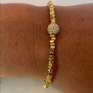 Michael Kors Sterling Silver Pavé Bracelet